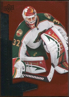 2010/11 Upper Deck Black Diamond Ruby #100 Niklas Backstrom /100