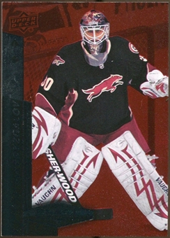 2010/11 Upper Deck Black Diamond Ruby #107 Ilya Bryzgalov /100