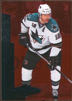 2010/11 Upper Deck Black Diamond Ruby #116 Patrick Marleau /100