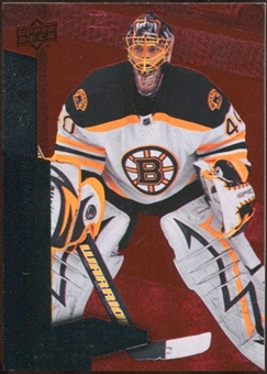 2010/11 Upper Deck Black Diamond Ruby #118 Tuukka Rask /100