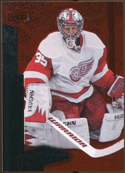 2010/11 Upper Deck Black Diamond Ruby #123 Jimmy Howard /100