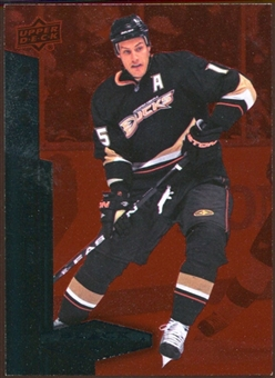 2010/11 Upper Deck Black Diamond Ruby #145 Ryan Getzlaf /100