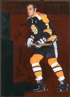2010/11 Upper Deck Black Diamond Ruby #147 Phil Esposito /100