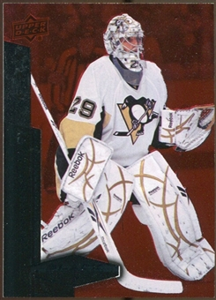 2010/11 Upper Deck Black Diamond Ruby #150 Marc-Andre Fleury /100