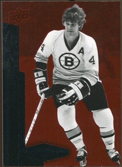 2010/11 Upper Deck Black Diamond Ruby #182 Bobby Orr /100