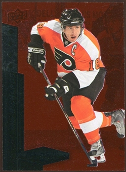 2010/11 Upper Deck Black Diamond Ruby #196 Mike Richards /100