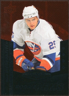 2010/11 Upper Deck Black Diamond Ruby #208 Nino Niederreiter /100