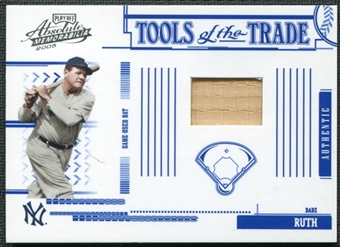 2005 Playoff Absolute Memorabilia Tools of the Trade Bat #102 Babe Ruth 233/250