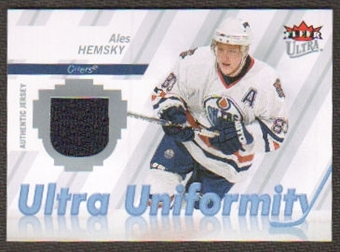 2007/08  Ultra Uniformity #UAA Alex Auld