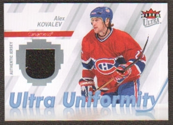 2007/08  Ultra Uniformity #UAK Alex Kovalev