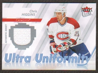 2007/08  Ultra Uniformity #UCH Chris Higgins