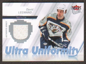 2007/08  Ultra Uniformity #UDL David Legwand