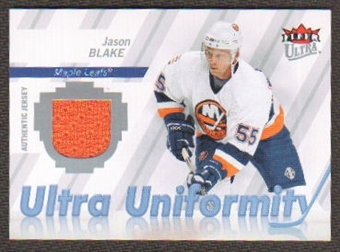 2007/08  Ultra Uniformity #UJB Jason Blake