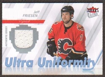 2007/08  Ultra Uniformity #UJF Jeff Friesen