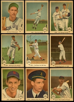 1959 Fleer Baseball Ted Williams Near Complete Set (67/80) (VG-EX)