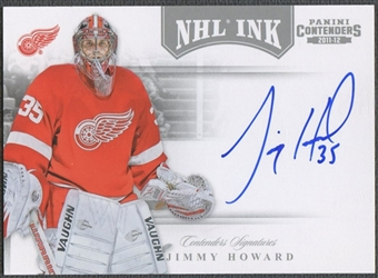 2011/12 Panini Contenders #17 Jimmy Howard NHL Ink Auto