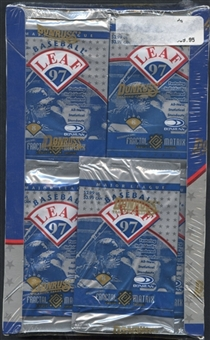 1997 Leaf Baseball Retail Box