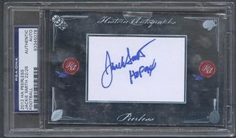 2012 Historic Autographs Peerless #146 Jackie Smith Auto #22/26
