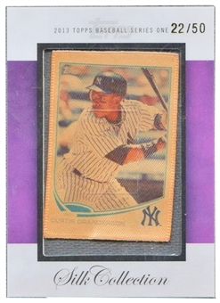 2013 Topps #SC80 Curtis Granderson Silk Collection #22/50