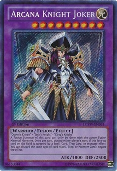 Yu-Gi-Oh Legendary Collection 3 1st Ed. Single Arcana Knight Joker Secret Rare
