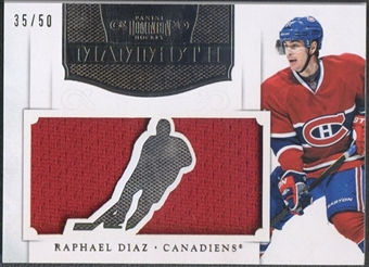 2011/12 Dominion #24 Raphael Diaz Mammoth Jersey #35/50