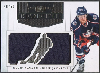 2011/12 Dominion #10 David Savard Mammoth Jersey #46/50