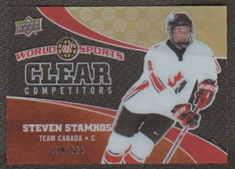 2010 Upper Deck World of Sports Clear Competitors #CC22 Steven Stamkos /550