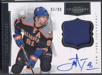 2011/12 Dominion #58 John Tavares Patch Auto #03/60