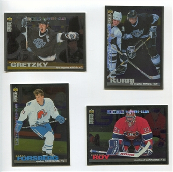 1995/96 Upper Deck Collector's Choice Player's Club Platinum #396 Wayne Gretzky