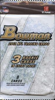 2012 Bowman Football Retail Pack - LUCK & WILSON ROOKIES!