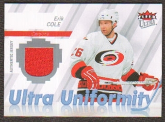 2007/08 Upper Deck Fleer Ultra Uniformity #UEC Erik Cole