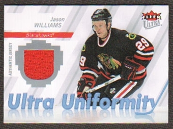 2007/08  Ultra Uniformity #UJW Jason Williams