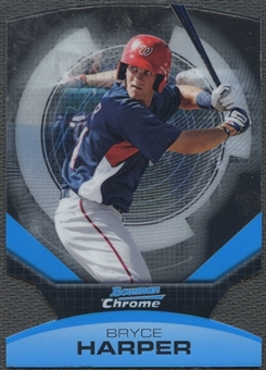 2011 Bowman Chrome #1 Bryce Harper Futures Die Cut