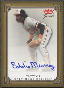 2004 Greats of the Game #EM Eddie Murray Auto