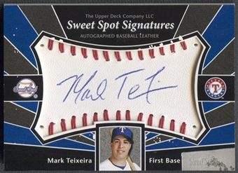 2004 Sweet Spot #MT Mark Teixeira Signatures Auto