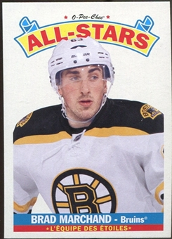 2012/13 Upper Deck O-Pee-Chee All Stars #AS4 Brad Marchand