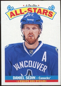 2012/13 Upper Deck O-Pee-Chee All Stars #AS10 Daniel Sedin