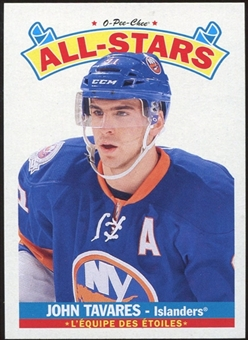 2012/13 Upper Deck O-Pee-Chee All Stars #AS23 John Tavares