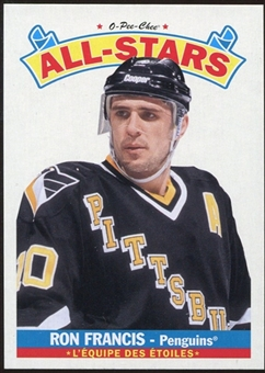 2012/13 Upper Deck O-Pee-Chee All Stars #AS40 Ron Francis