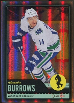 2012/13 Upper Deck O-Pee-Chee Black Rainbow #25 Alexandre Burrows 5/100