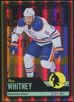 2012/13 Upper Deck O-Pee-Chee Black Rainbow #30 Ryan Whitney 71/100
