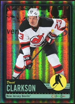 2012/13 Upper Deck O-Pee-Chee Black Rainbow #74 David Clarkson 33/100