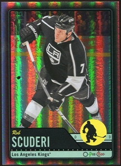 2012/13 Upper Deck O-Pee-Chee Black Rainbow #97 Rob Scuderi 27/100
