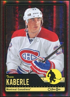 2012/13 Upper Deck O-Pee-Chee Black Rainbow #107 Tomas Kaberle 55/100