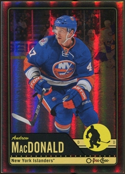 2012/13 Upper Deck O-Pee-Chee Black Rainbow #108 Andrew MacDonald 19/100