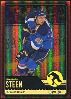 2012/13 Upper Deck O-Pee-Chee Black Rainbow #114 Alexander Steen 77/100