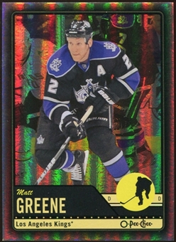 2012/13 Upper Deck O-Pee-Chee Black Rainbow #127 Matt Greene 60/100