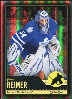 2012/13 Upper Deck O-Pee-Chee Black Rainbow #133 James Reimer 1/100
