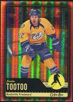 2012/13 Upper Deck O-Pee-Chee Black Rainbow #145 Jordin Tootoo 73/100