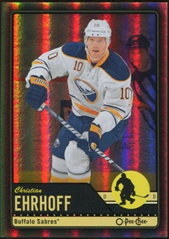 2012/13 Upper Deck O-Pee-Chee Black Rainbow #156 Christian Ehrhoff 18/100